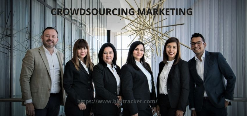 What is Crowdsourcing marketing?