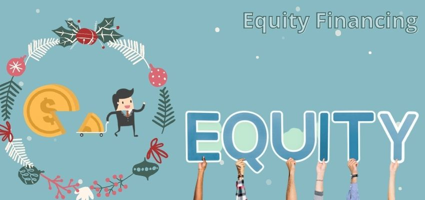 What is equity financing?