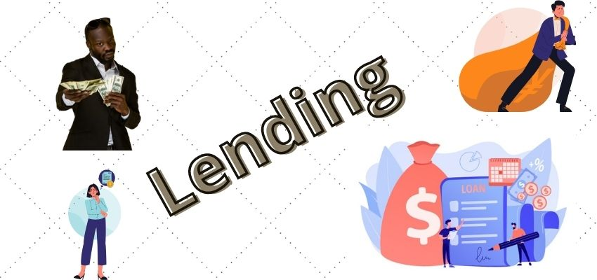 What is lending?