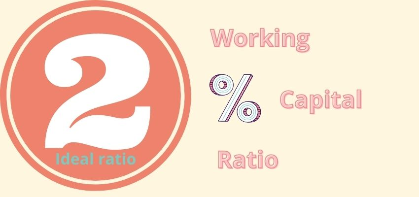 What is the working capital ratio?