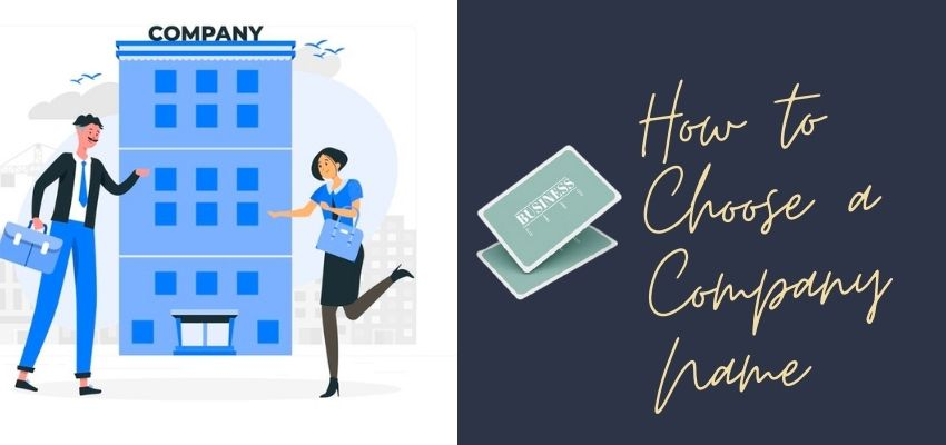 How to Choose a Company Name?