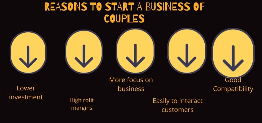 Why start couples business